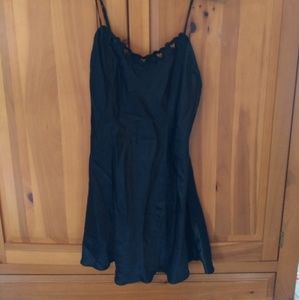 Victoria Secret Black 100% Silk